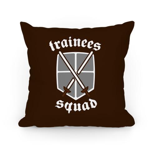 Trainees Squad Crest Pillow