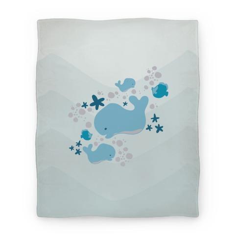 Whale Blanket Blanket