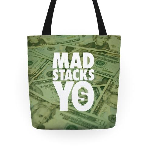 Mad Stacks Yo Tote