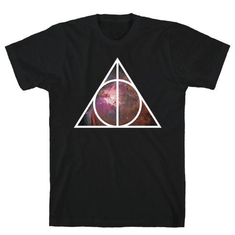 Deathly Hollows Mens T-Shirt