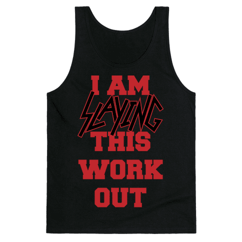 Slay the Workout Tank Top