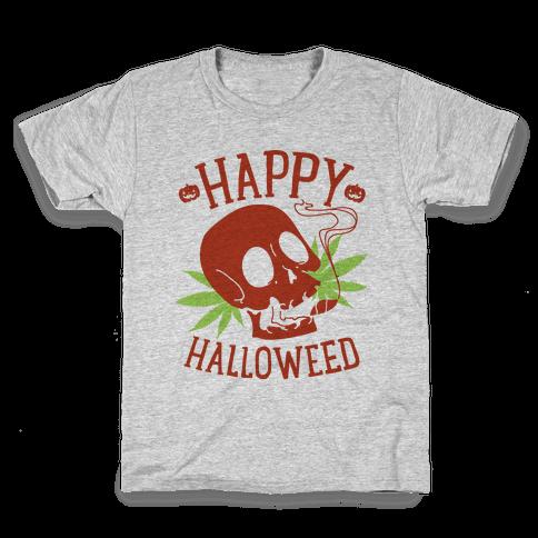 Happy Hallo-Weed Kids T-Shirt