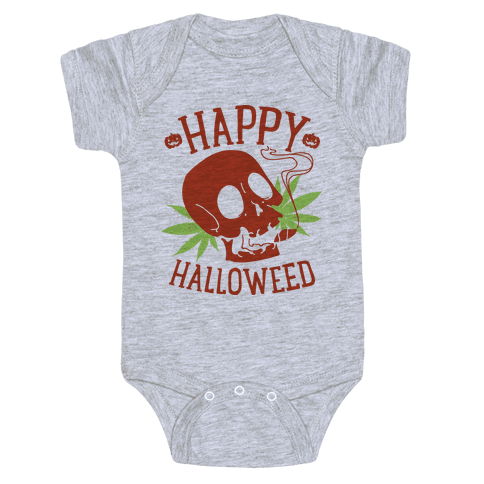 Happy Hallo-Weed Baby Onesy