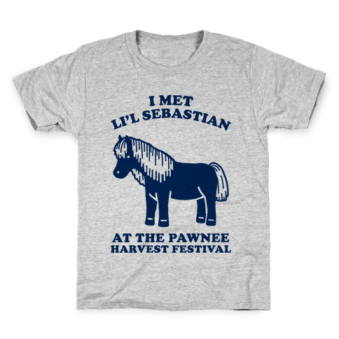 I Met Li'l Sebastian at the Pawnee Harvest Festival Kids T-Shirt