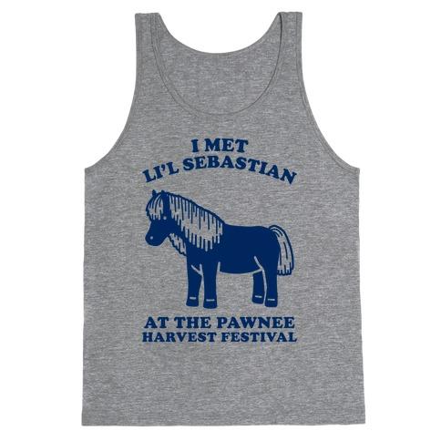 I Met Li'l Sebastian at the Pawnee Harvest Festival Tank Top