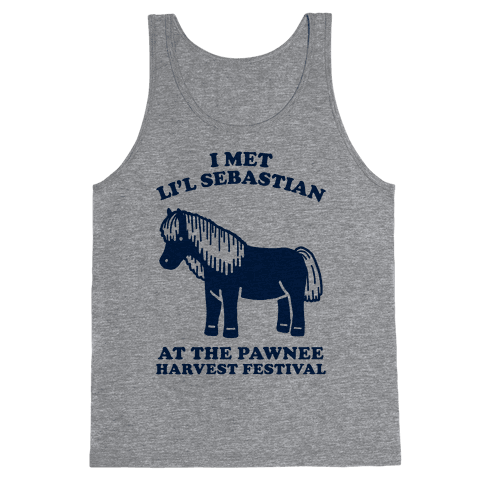 I Met Li'l Sebastian at the Pawnee Harvest Festival Tank Top