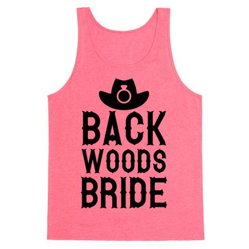 Backwoods Bride Tank Top