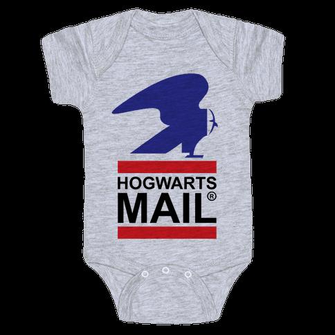 Hogwarts Mail Baby Onesy
