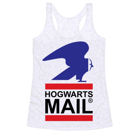 Hogwarts Mail Racerback Tank Top