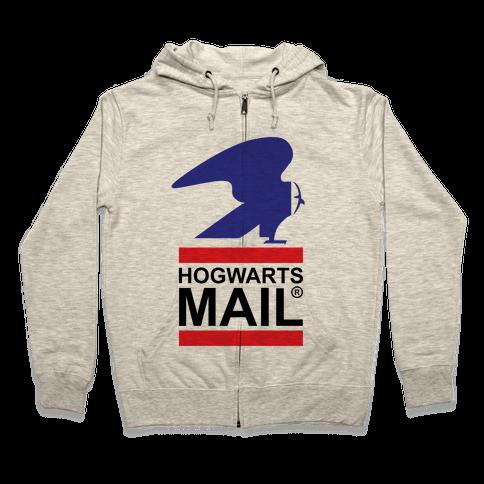 Hogwarts Mail Zip Hoodie