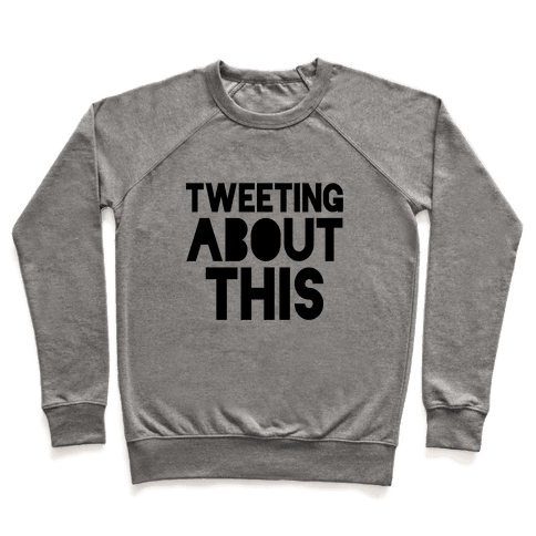 Tweeting About This Pullover