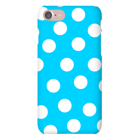 Blue Polka Dot Case Phone Case