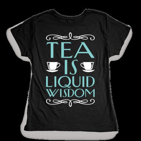 Liquid Wisdom Womens T-Shirt