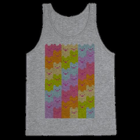 Pastel Rainbow Cats Tank Top