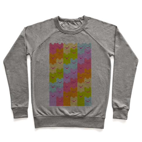 Pastel Rainbow Cats Pullover