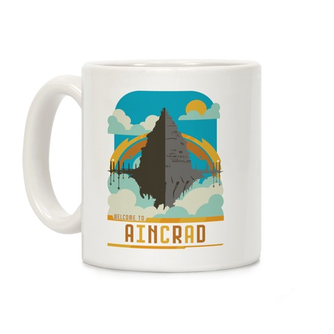 Welcome To Aincrad Coffee Mug