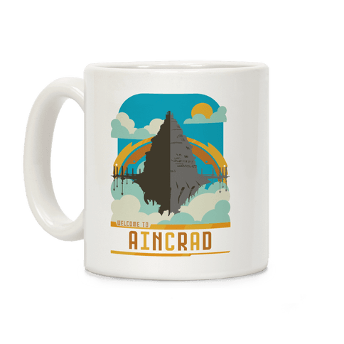 Welcome To Aincrad Coffee Mug
