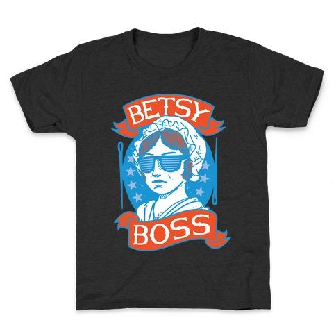 Betsy Boss Kids T-Shirt