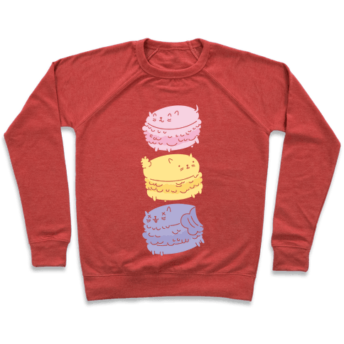 Cat Macarons Pullover