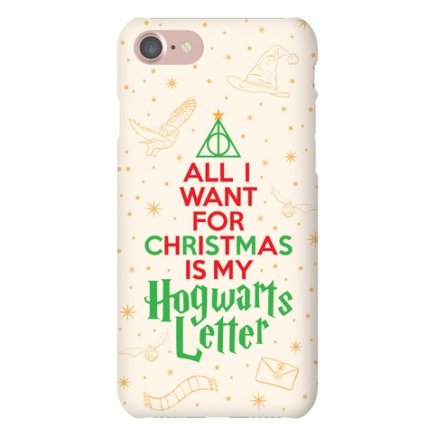Christmas Hogwarts Letter Phone Case
