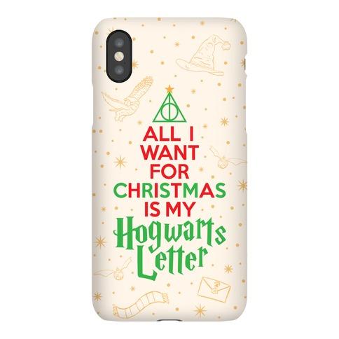 Christmas Hogwarts Letter Phone Case