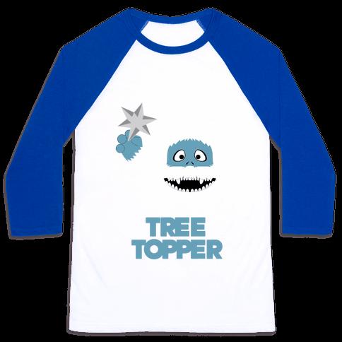 The Tree Topper Baseball Tee