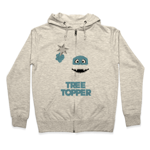 The Tree Topper Zip Hoodie