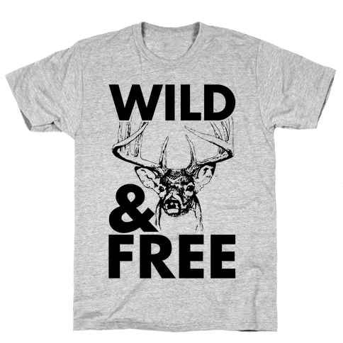 Wild and Free Mens T-Shirt