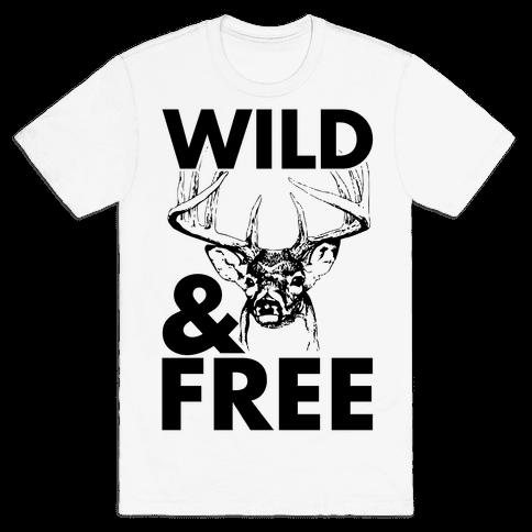 Wild and Free Mens T-Shirt