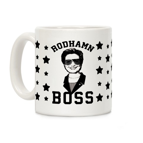 Rodhamn Boss With Shutter Shades Coffee Mug