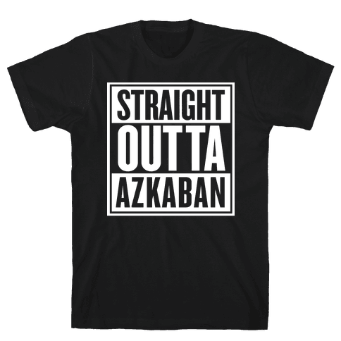 Straight Outta Azkaban Mens T-Shirt