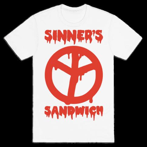 Sinner's Sandwich Mens T-Shirt