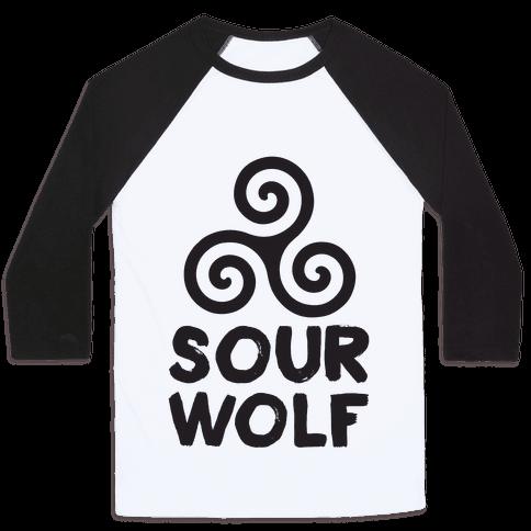Sourwolf Baseball Tee