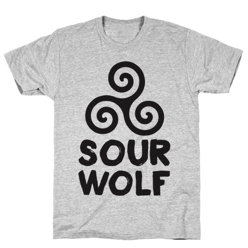 Sourwolf Mens T-Shirt