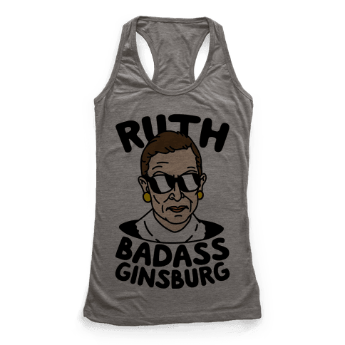 Ruth Badass Ginsburg Racerback Tank Top