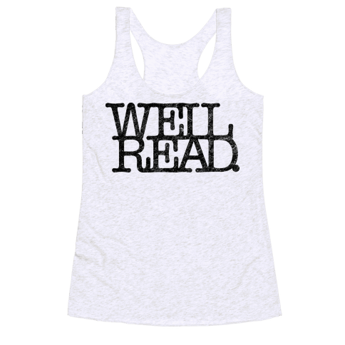 Well Read Racerback Tank Top