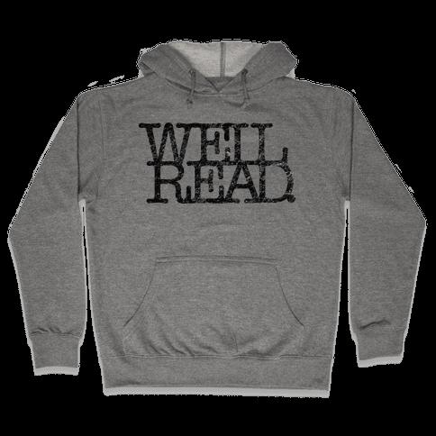 Well Read Hooded Sweatshirt