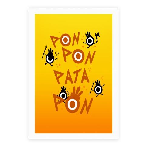 Pon Pon Pata Pon Poster
