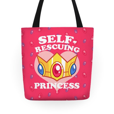 Self-Rescuing Princess Tote