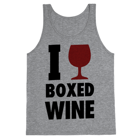 I Love Boxed Wine Tank Top