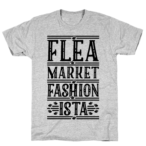 Flea Market Fashionista Mens T-Shirt