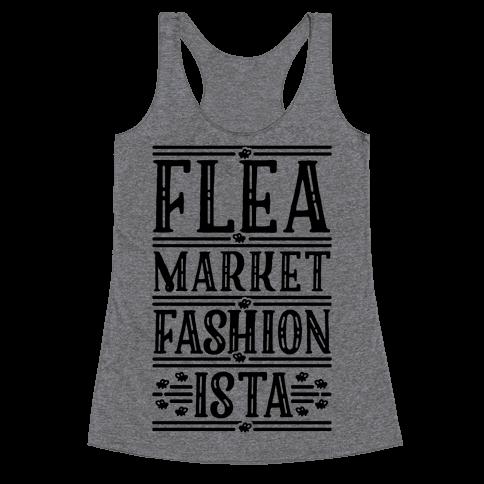 Flea Market Fashionista Racerback Tank Top