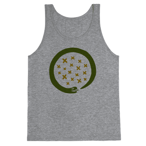 The Snake That Ate Itself Tank Top
