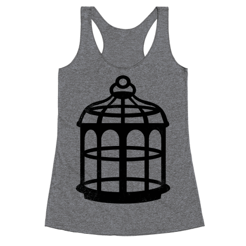 The Cage (Vintage) Racerback Tank Top