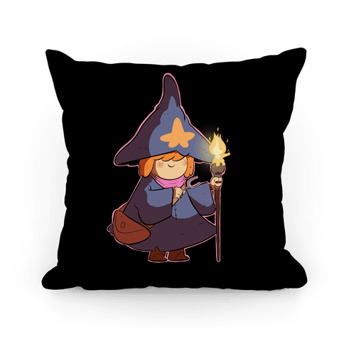 Wizard Girl Pillow