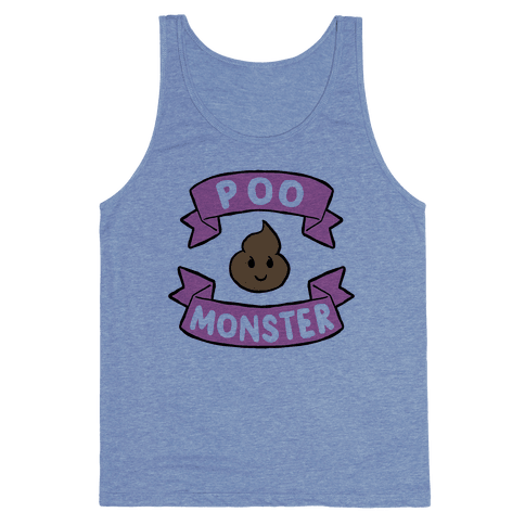 Poo Monster Tank Top