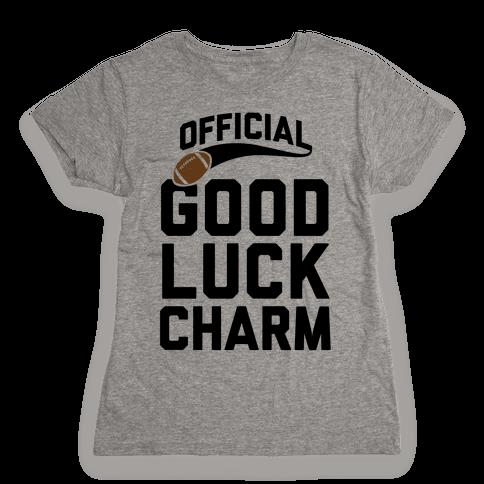 Football Good Luck Charm Womens T-Shirt