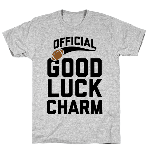 Football Good Luck Charm Mens T-Shirt