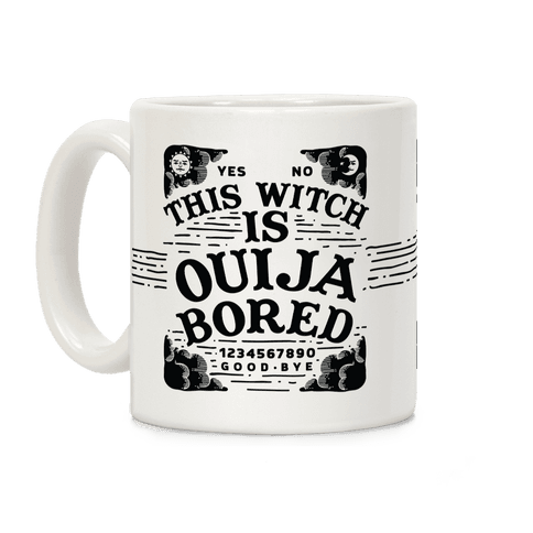 This Witch is Ouija Bored Coffee Mug
