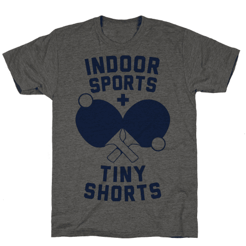 Indoor Sports + Tiny Shorts